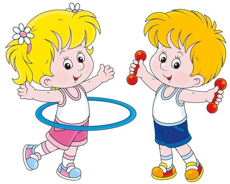Картинки мультяшки по здоровью